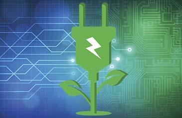 EDZ Plant Bloom with Electric Plug