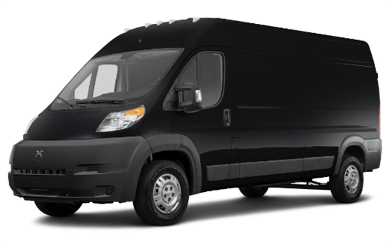All Electric Cargo Van - Zero Emissions Vehicle - With DC Fast Charge Capabilities